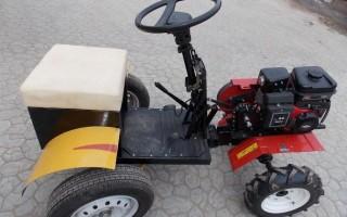 Минитрактор, или трактор из мотоблока своими руками
