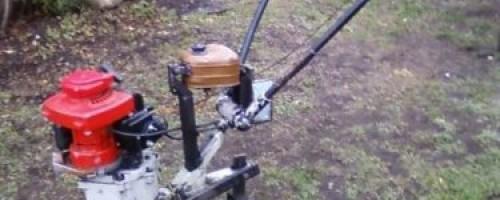 Как сделать мотоблок из бензопилы?