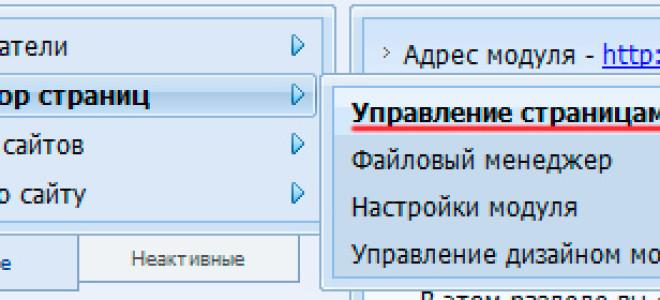 Урок№7. Как работать с визуальным редактором сайта на ucoz.ru