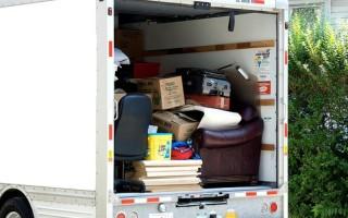 Какие домашние вещи стоит перевезти специализированным транспортом?